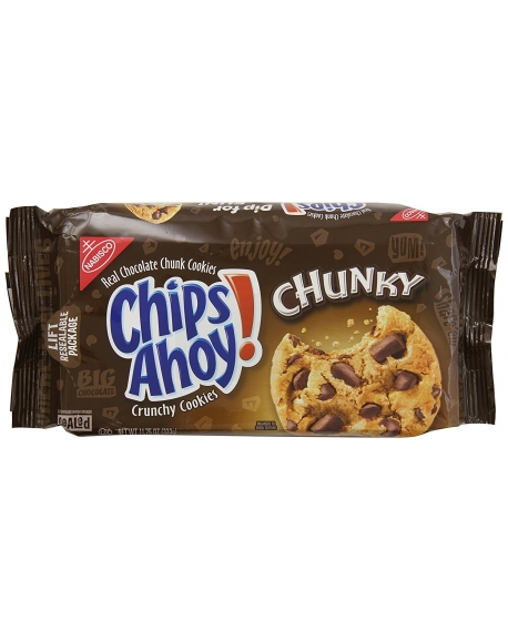 CHIPS AHOY! - Chunky Шоколадное печенье