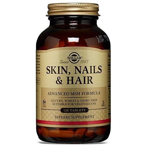 Solgar кожа ногти и волосы улучшенная мсм формула