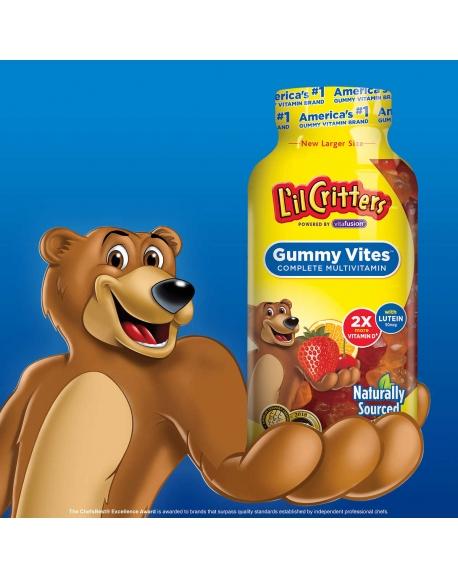 L'IL CRITTERS GUMMY VITES- Детские мультивитамины (300 шт)