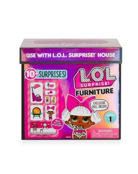 ЛОЛ. Сюрприз Мебель с Куклой / L.O.L. Surprise Furniture with Doll