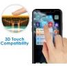 Защитная пленка JETech для Apple iPhone 11 Pro, iPhone Xs и iPhone X 5,8-дюймовая пленка из закаленного стекла, 2 упаковки